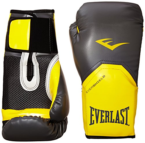 Everlast 2300GR/OR12 - Guante de boxeo elite, color gris/ naranja, 12 onzas