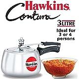 Hawkins Contura Pressure Cooker, 3 Litres