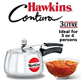 Best Cookware Materials - Hawkins Contura Pressure Cooker, 3 litres Review