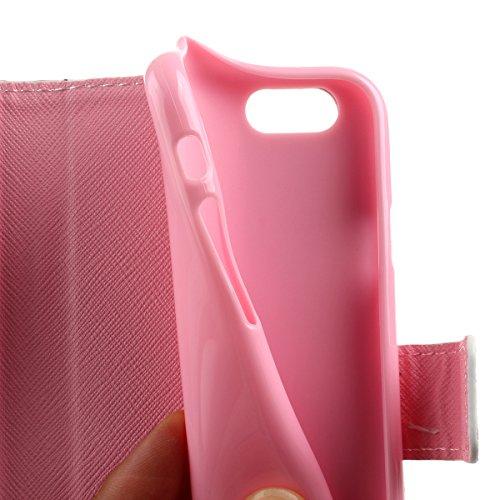 Ukayfe iphone 6 Copertura, Serie di Natale Custodia Ultra Slim Morbido TPU Gel Silicone Protettivo Skin Protettiva Shell Case Cover per Apple iPhone 6/6S (4.7 pollice ) Con Stilo Penna - Bianco neve fiore