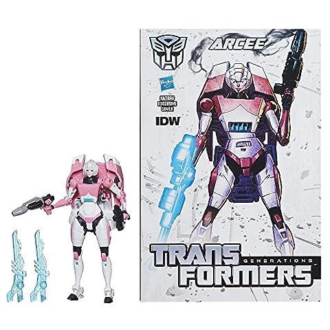 Transformers Generations Deluxe Arcee mit Comic