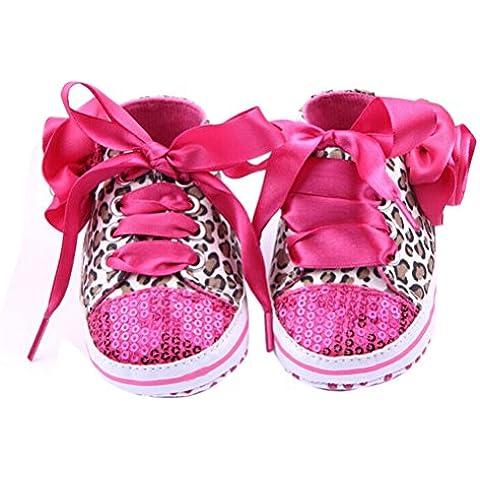 VORCOOL Coppia di Bambino Ragazze Scarpe Sneaker- Dimensioni: 12cm