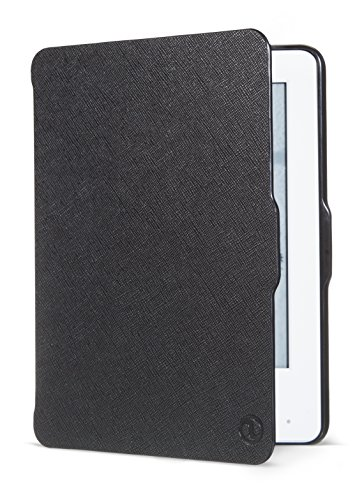 NuPro Slim Fitted Cover for Kindle (7th Generation) - Black - will not fit 8th generation (2016) or previous generation Kindles