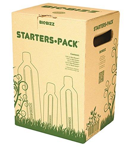 BioBizz Naturdünger Starters Pack, mehrfarbig