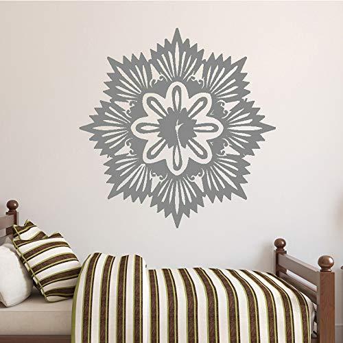 yiyiyaya Nouvellement conçu Accessoires de décoration de Maison Non représentés pour Le Salon Autocollants muraux Auto-adhésifs de Papier Peint Gris 43cm X 43cm