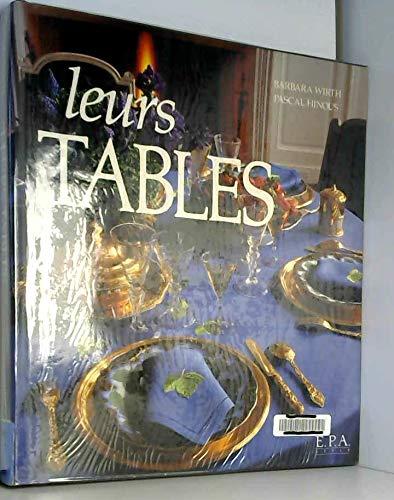 Leurs tables par Barbara Wirth, Pascal Hinous