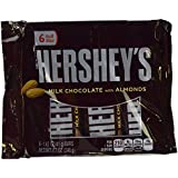 Hershey's Milk Chocolate Bars With Almonds, 6 Pk Display 246 Gms