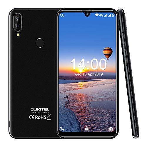 Oukitel c16 pro (2019) smartphone offerta del giorno 5.71 pollici,3gb ram 32gb rom telefonia mobile, quad-core 256gb espandibili offerte cellulari, 2600mah, 8mp+5mp(nero)