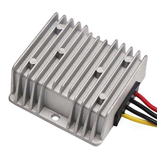 Busirde Feuchtigkeitsbeständig 48V bis 24V 10A 15A 240W Spannung Reducer DC Step Down Converter 30-60V 24V 10A DC Buck Converter 10A -