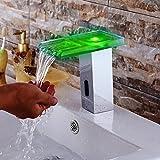 yuetai Wasser Power keine Akku LED Sensor Automatik Berührungslose Wasserfall