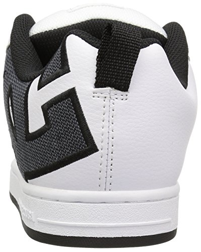 DC Shoes Court Graffik, Chaussures de skate homme White (wsm)