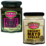 #4: Posh Nosh Classic Combo Pack of Chocolate Fudge Sauce & Classic Eggless Mayonnaise (No Preservatives)