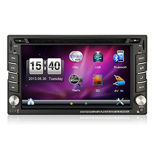 autosion Autoradio Stereo Head Unit GPS Navigation DVD Player für NISSAN FRONTIER/Nissan Pathfinder/Nissan Versa/Nissan Murano/Nissan 350Z/Nissan Sentra/Nissan NV200 (Nissan Sentra-touch-screen)