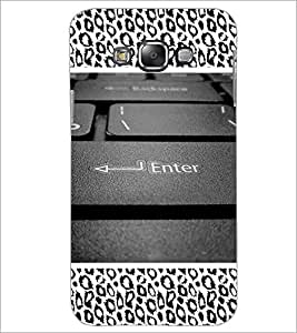 PrintDhaba Keyboard D-5095 Back Case Cover for SAMSUNG GALAXY A8 (Multi-Coloured)
