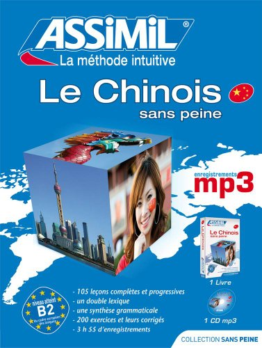 Le Chinois Pack mp3 (Livre+1CD mp3) par Philippe Kantor