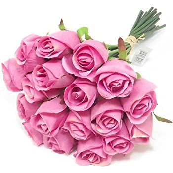 30cm bunch bundle of 18 artificial pink roses weddings homes 30cm bunch bundle of 18 artificial pink roses weddings homes grave mightylinksfo