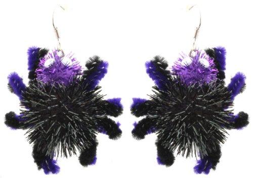 Sparkly 3D Spider Halloween Ohrringe-gepiercten Ohren ()