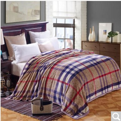 BDUK Double-Thick Raschel komprimieren Decke Studenten und Betten mit warmen Winter romantische Hochzeit Decken Decken ,C,200*230cm/7 Catty