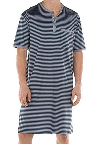 Calida Herren Einteiliger Schlafanzug Sansibar Nachthemd passat grey