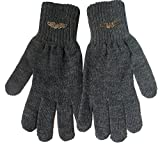 Gajraj Men's Gloves (GHF51_Dark Grey)