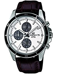 Casio Edifice Chronograph White Dial Men's Watch - EFR-526L-7AVUDF (EX097)