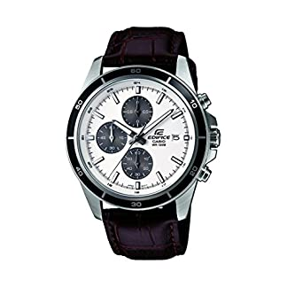 Casio Edifice Chronograph White Dial Men's Watch – EFR-526L-7AVUDF (EX097)