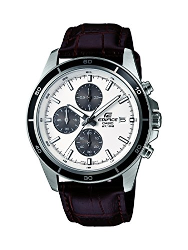 Casio Edifice Chronograph White Dial Men's Watch - EFR-526L-7AVUDF (EX097)  available at amazon for Rs.5395