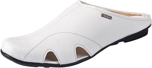 FAUSTO Men's Slip-on Outdoor Slippers