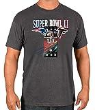 Atlanta Falcons vs New England Patriots NFL Super Bowl 51 Ticket S/S T-Shirt