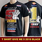 HONDA Limited Edition Marc Marquez T-shirt officiel championnat du monde 2016 Moto GP (L)