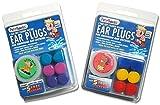 2Stück. 6Paar Putty Buddies Waterblock Schwimm-Ohrstöpsel–Menge. 23Packungen enthalten, Blaugrün, Violett, magenta Farbe Ear Plugs