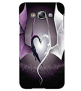 Samsung Galaxy E7 MULTICOLOR PRINTED BACK COVER FROM GADGET LOOKS