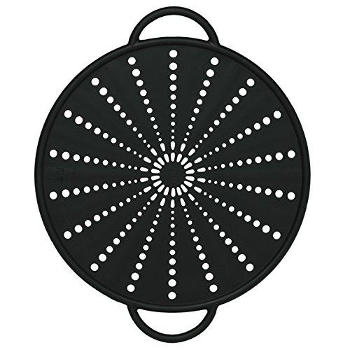 Emsa 514560 Smart Kitchen silicone splash & splatter guard Ø 26 cm, grey