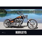 Harleys 2016 - Bildkalender quer (50 x 34) - Technikkalender - Fahrzeuge