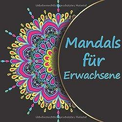 Mandalas für Erwachsene: Anspruchsvolle Mandala Vorlagen - auf hochwertigem Papier - perfekt zum entspannen und abschalten - schwere Malvorlagen
