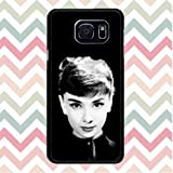 [TV Show] Audrey Hepburn Samsung Galaxy S6 Edge+(Plus) Tough Back Protective Case