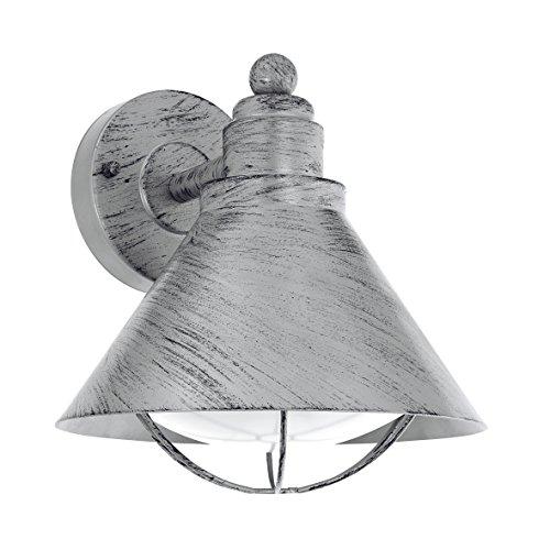 Eglo Lámpara Colgante Colindres 1 E27, 60 W, Negro 3 x 21.5 x 48.5 cm