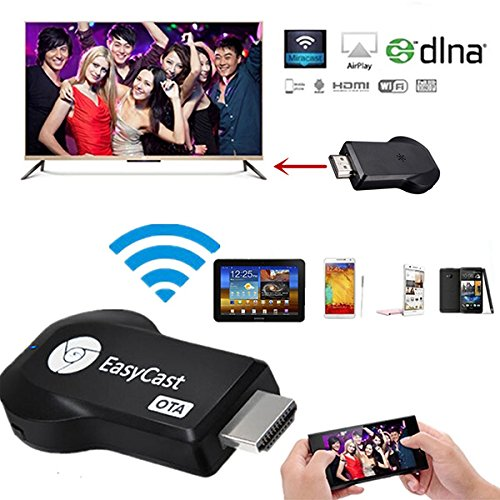 Generic EasyCast EZCAST WiFi OTA Display Dongle Miracast TV Dongle HDMI DLNA AirPlay 1080P One piece