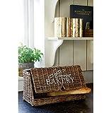 Rivièra Maison - Brotkorb, Brotkasten - 'Home Bakery' - Rattan - 20x21x41 cm