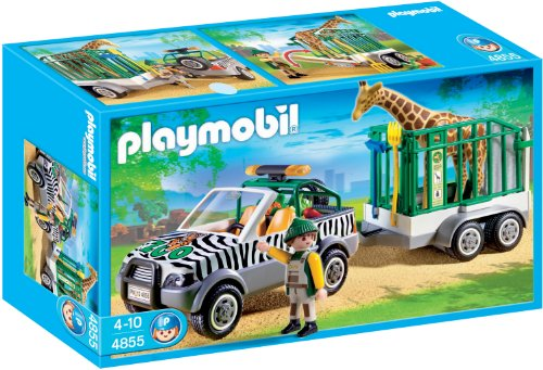 PLAYMOBIL 626070 - ZOO VEHICULO CON TRAILER