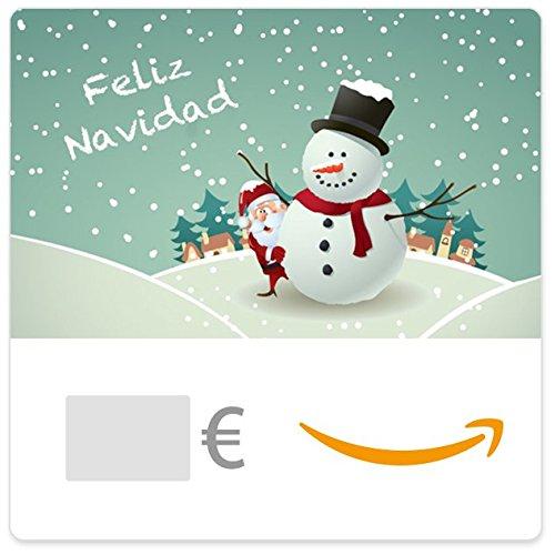 Cheque Regalo de Amazon.es - E-mail - Santa y el Hombre de Nieve