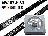 10 Stück APA102 SMD 5050 RGB LED ähnlich wie WS2801 Chip
