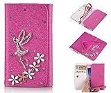 ZeWoo PU Leder Brieftasche - XT039 / (5#) Engel + Blumen