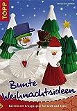 Bunte Weihnachtsideen: Basteln mit Krepppapier für Groß und Klein