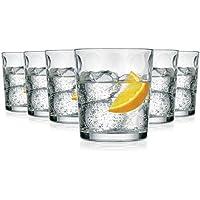 Pasabahce Sevilla Vasos de Agua / 390 ML/Conjunto de 6 / Gafas Lavavajillas / Vasos de Cristal