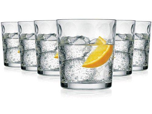 Pasabahce Sevilla Vasos de Agua / 390 ML/Conjunto de 6 / Gafas Lavavaj