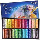 12/25/50 pcs Pastel à l'Huile Enfant Bâton de Peinture à l'Huile en Kit Crayon de Cire coloré Pastels de Tendres Professionne