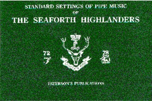 Seaforth Highlanders Standard Settings Of Pipe Music: Noten für Dudelsack