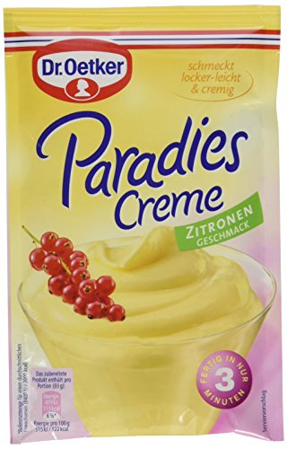 Dr. Oetker Paradies Creme Zitronen Geschmack, 11er Pack (11 x 72,5 g)