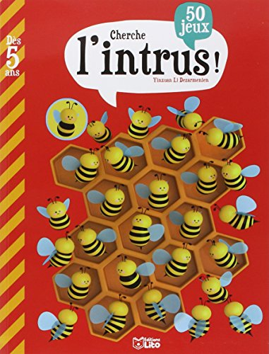 Mon Grand Livre de Jeux : Cherche l'Intrus - Dès 5 ans